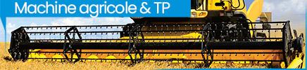 Peinture pour véhicule agricole et TP